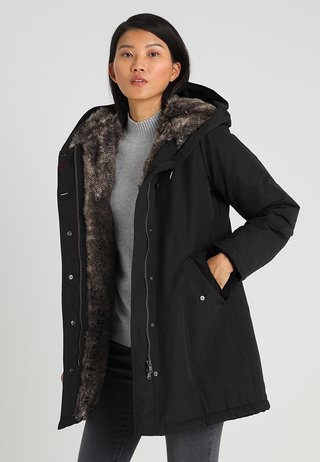 LANIGAN NEW - Wintermantel - black