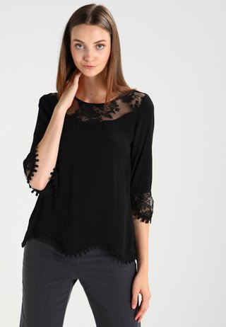 KALANIE BLOUSE - Camicetta - pitch black