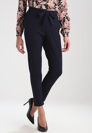 JILLIAN BELT PANT - Trousers - midnight marine