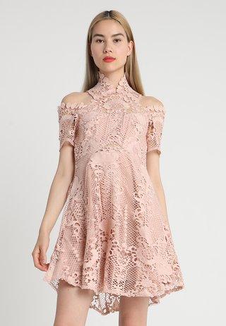 BELLA DONNA MINI DRESS - Cocktail dress / Party dress - almond nude