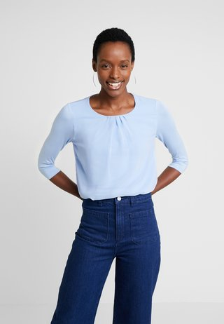 PATCHED - Langarmshirt - fresh blue