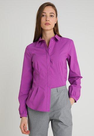 BLOUSE SLEEVE - Skjortebluser - bright purple