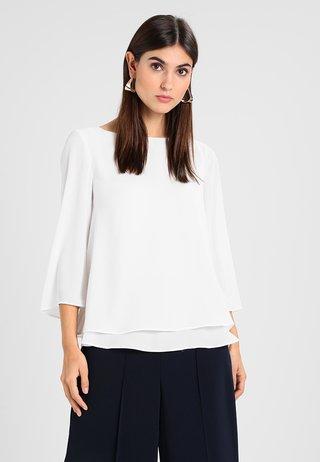 SOFT CREPE - Blusa - off white