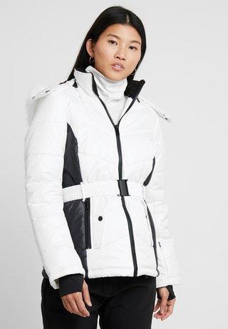 HOOD JACKET - Zimní bunda - white