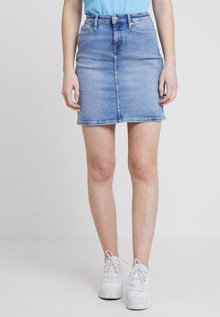 ROME RW SKIRT YATTA - A-snit nederdel/ A-formede nederdele - denim