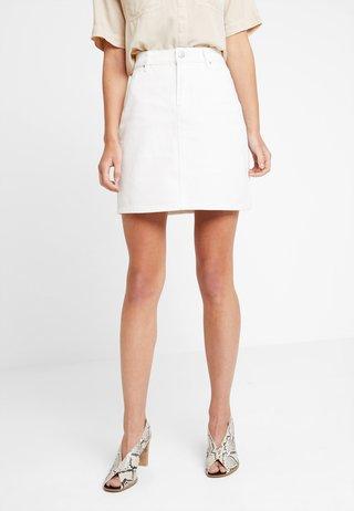 SKIRT - A-line skirt - ecru