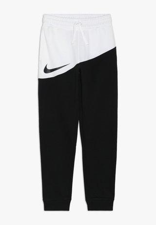 PANT - Trainingsbroek - black/white