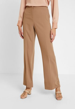 BOOTCUT - Stoffhose - light brown