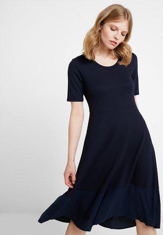 DRESS LONG - Jerseykleid - midnight blue