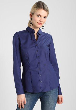 SCHWARZE ROSE - Skjortebluser - dunkelblau