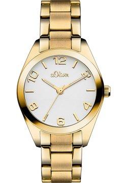 s.Oliver - Uhr - goldfarben