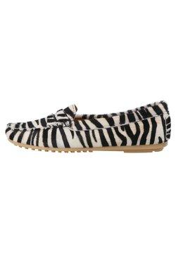 ONEPAIR - Mokassin - zebra black