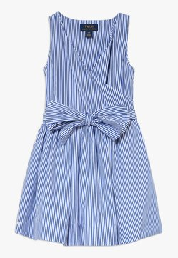 Polo Ralph Lauren - WRAP DRESS - Freizeitkleid - blue