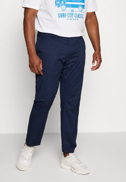 TOM TAILOR MEN PLUS - Chino - black iris blue