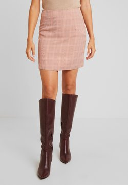 UNIQUE 21 - BABY CHECK SKIRT - Minihame - light pink