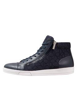 Calvin Klein - BERKE - Sneakers hoog - navy