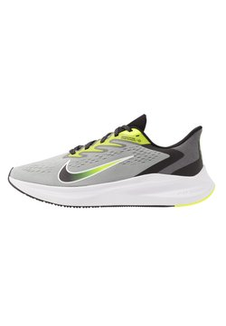 Nike Performance - ZOOM WINFLO 7 - Zapatillas de running neutras - light smoke grey/black/volt/white