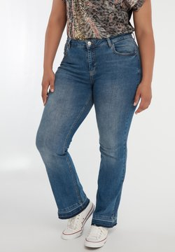 MS Mode - Bootcut jeans - blue