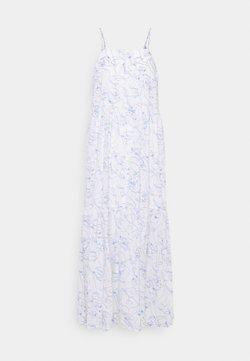 Marc O'Polo DENIM - DRESS STRAPS TIRED - Maxikleid - multi/scandinavian white