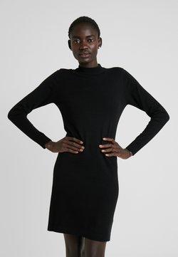 Object - OBJTHESS DRESS - Vestido de punto - black