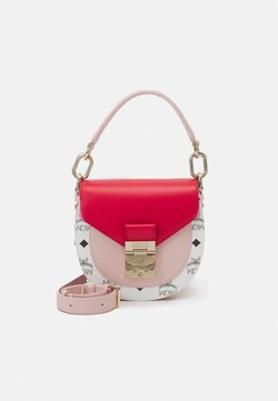 MCM - PATRICIA VISETOS BLOCK SHOULDER MINI - Handbag - chinese red