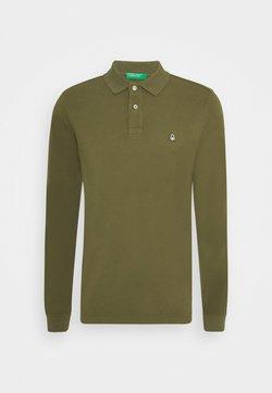 Benetton - Polo shirt - dark reen