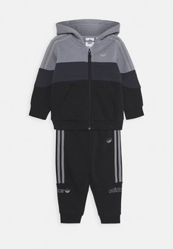 adidas Originals - HOODIE SET - Survêtement - grey/black