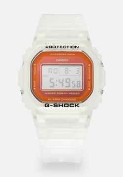 G-SHOCK - SKELETON - Montre à affichage digital - transparent/orange