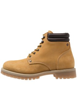 Jack & Jones - JFWSTOKE BOOT - Schnürstiefelette - honey