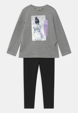 OVS - TERRY SET - Sweatshirt - silver