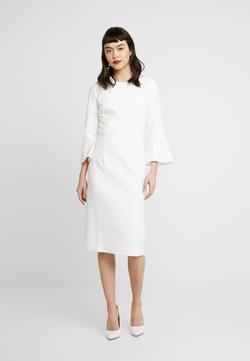 IVY & OAK - TRUMPET SLEEVE DRESS - Vestido de tubo - snow white