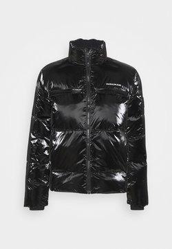 Calvin Klein Jeans - HIGH SHINE PUFFER - Winterjacke - black
