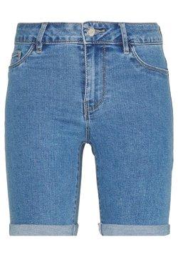 ONLY - ONLSUN ANNE - Jeans Shorts - light blue denim