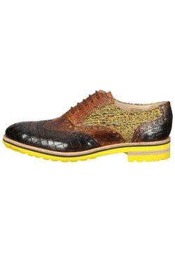 Melvin & Hamilton - Sznurowane obuwie sportowe - crock mid brown tom