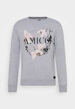 AMICCI - SCICILY  - Sweater - grey marl