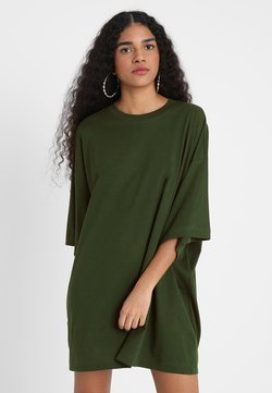 Weekday - HUGE - T-Shirt basic - green dark