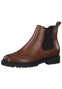 Tamaris - Ankle Boot - cognac leather 348