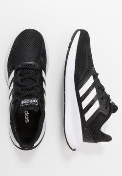 adidas Performance - RUNFALCON UNISEX - Laufschuh Neutral - core black/footwear white