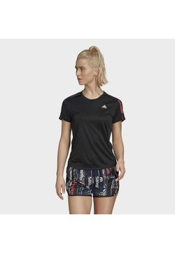 adidas Performance - OWN THE RUN  - Camiseta estampada - black