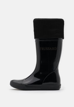 Trussardi - BOOT - Gummistövlar - black