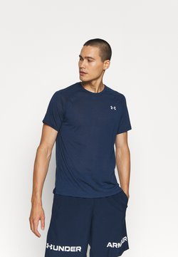 Under Armour - STREAKER - T-shirt imprimé - dark blue