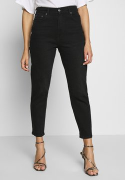 Gina Tricot - COMFY MOM - Jeans relaxed fit - black