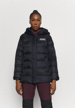 Oakley - WINTER PINE PUFFER JACKET - Snowboard jacket - blackout