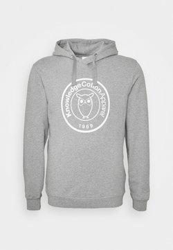 Knowledge Cotton Apparel - BADGE - Sweatshirt - grey melange