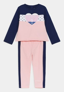 Guess - ACTIVE SET - Trainingsanzug - midnnight pink