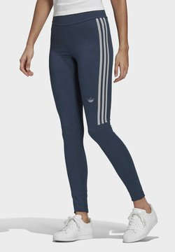 adidas Originals - TIGHTS - Leggings - crew navy/white