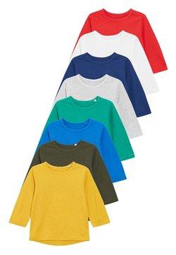 Next - 8 PACK  - Camiseta de manga larga - blue