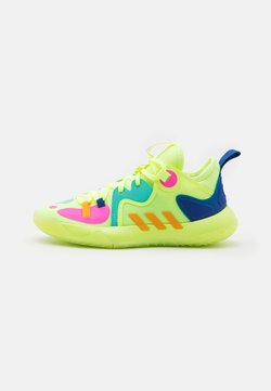 adidas Performance - HARDEN STEPBACK 2 UNISEX - Koripallokengät - hi res yellow/crew yellow/royal blue