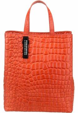 Liebeskind Berlin - PABTOTEM - Shopping Bag - pumpkin