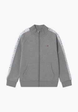 Tommy Hilfiger - TAPE FULL-ZIP - veste en sweat zippée - grey